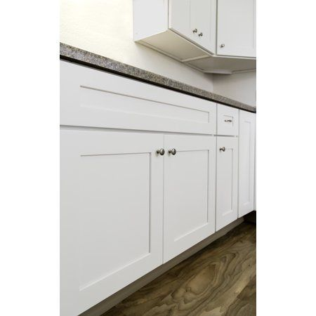 Design House 561472 Brookings Unassembled Shaker Sink Base Kitchen Cabinet 30x34 5x24 White Walmart Com Modern Kitchen Cabinet Design House Design Kitchen Kitchen Wall Cabinets