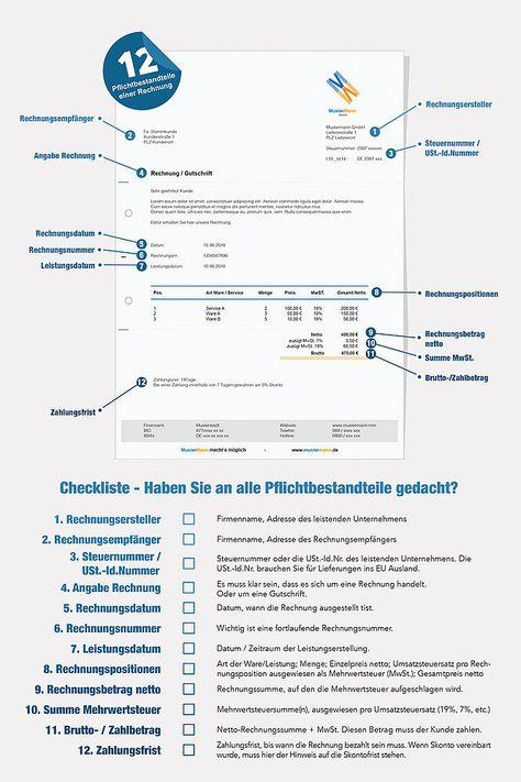 Hier Die Vorlage Herunterladen Business Tax Gewerbe Pinterest Business
