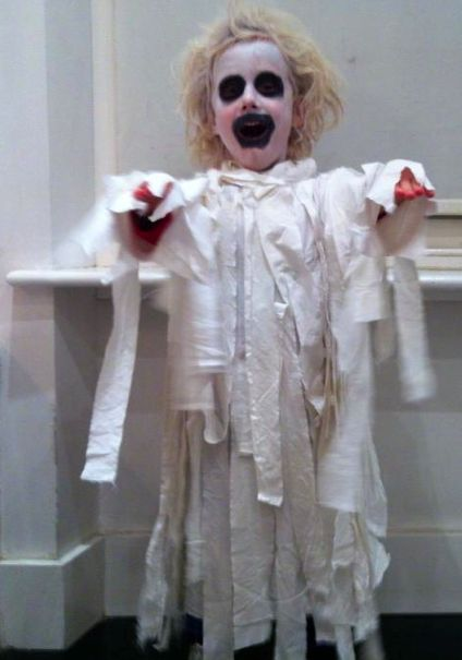 ghost costume diy halloween boys kids white boo fabric & 12 best OH MY ghost images on Pinterest | Parties Halloween make up ...
