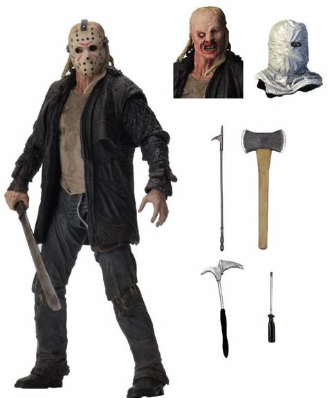 """Friday the 13th – Ultimate 2009 Jason - 7"""" Scale Action Figure"""
