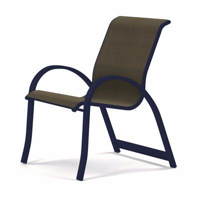 Telescope Casual Aruba Ii Sling Stacking Patio Dining Chair In 2020 Patio Dining Chairs Telescope Casual Chair