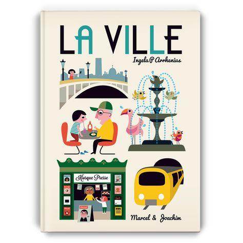 Livre Geant La Ville Livre Coloriage Illustrations De