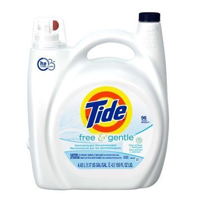 Tide Free And Gentle Liquid Laundry Detergent 96 Loads 150