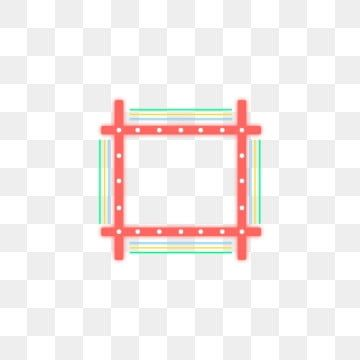 Red Blue Yellow Green Colorful Neon Border Decorative Elements Frame Light Square Png Transparent Clipart Image And Psd File For Free Download Red Blue Yellow Red And Blue Blue Yellow