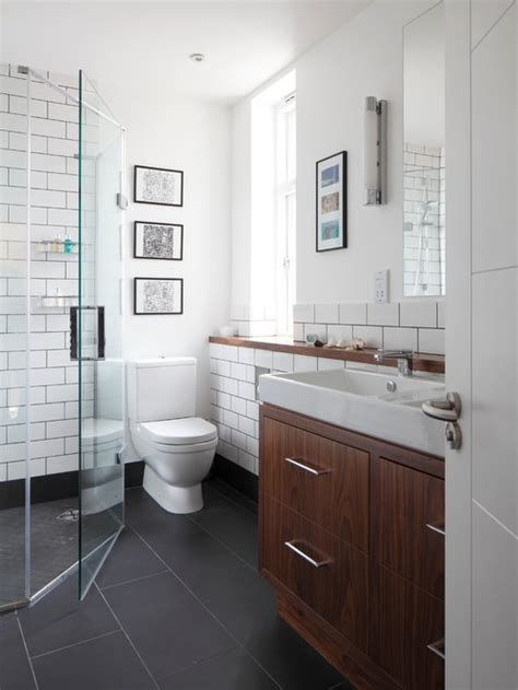 White Bathroom Cabinets With Dark Floors In 2020 Cherry Cabinets