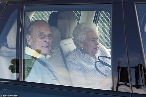 The couple, who have been isolating at Windsor Castle, travelled by car to RAF Northolt, i...