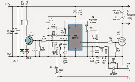 Adjustable 0-100V 50 Amp SMPS on Homemade Circuit Projects   The high power  adjustable switchi…   Circuit projects, Power supply circuit, Switched mode  power supplyPinterest