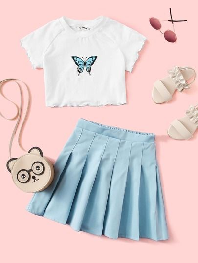 Cute Lazy Outfits, Girly Outfits, Pretty Outfits, Stylish Outfits, Cool Outfits, Girls Fashion Clothes, Teen Fashion Outfits, Teen Girl Outfits, Tween Fashion