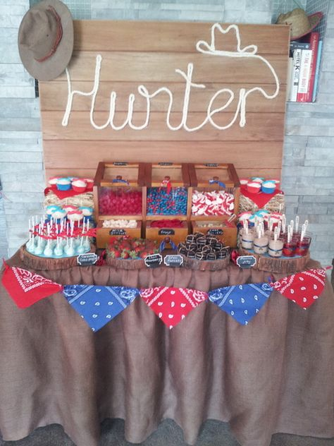 country cowboy 1st  birthday | CatchMyParty.com
