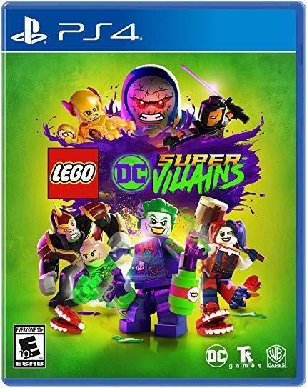 LEGO: DC Comics Super Villains (PlayStation 4, 2018) #ps4
