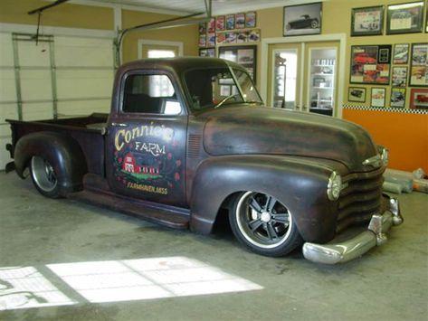 1952 chevy truck | 1952 Chevy Rat Rod Pickup