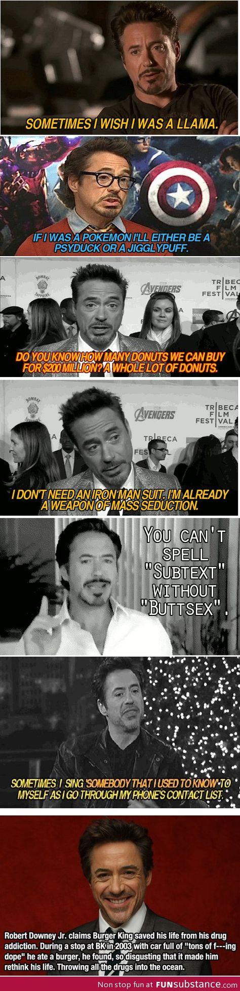 I Love Robert Downey Jr
