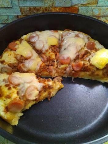 Resep Pizza Panggang Oven Oleh Ibun Ahsr Resep Panggang Adonan Biji Tomat