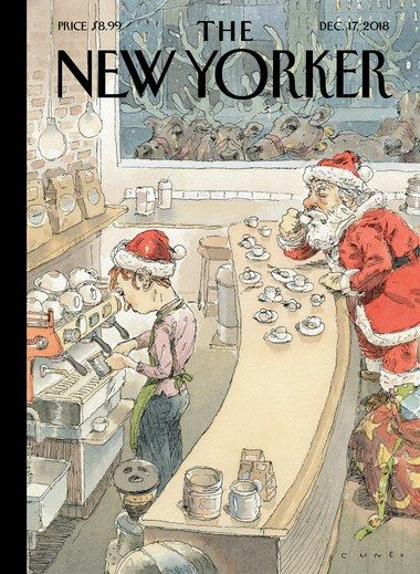 The New Yorker 2021 Christmas The New Yorker February 15 22 2021 The New Yorker New Yorker Covers Christmas Illustration