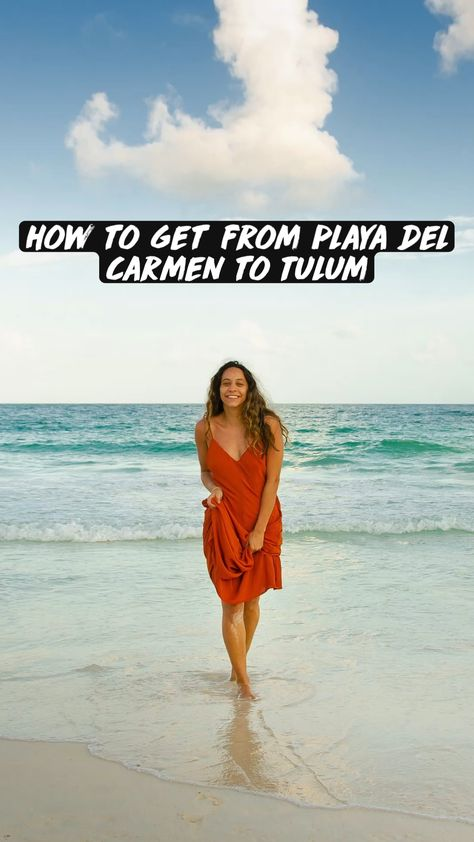 How to get from Playa del Carmen to Tulum