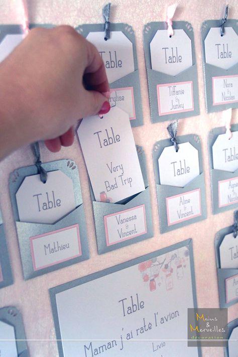Plan de table Argenté & Rose Poudré Mains et Merveilles Décoration