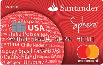 Santander Sphere Credit Card Login Online Bill Payment Credit Card Glob Santander Credit Card Credit Card Application