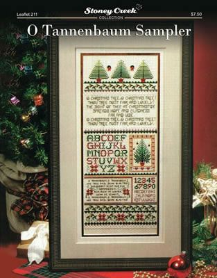 Zweigart Tannenbaum Fabric Square 18 Count Cross Stitch /& Hardanger Christmas