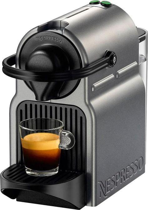 Breville Nespresso Inissia Espresso Maker Coffeemaker Titan