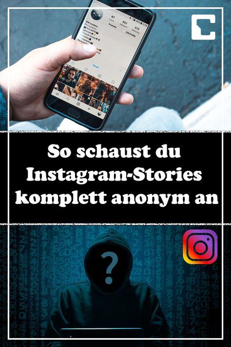 Bilder anschauen instagram Instagram ohne