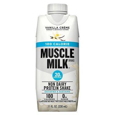 Muscle Milk Protein Nutrition Shake Vanilla Creme 4pk 44 Fl Oz Muscle Milk Nutrition Shakes Protein Shakes