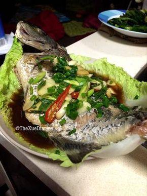 Resep Ikan Tim Jahe Daun Bawang Steamed Fish With Ginger Shallots Oleh Thexuediaries Resep Resep Ikan Resep Makanan Cina Resep Makanan Sehat