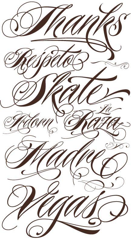 Tattoo Schriften Vorlagen – 40 Designs Posts   http://www.berlinroots.com/tattoo-schriften-vorlagen/