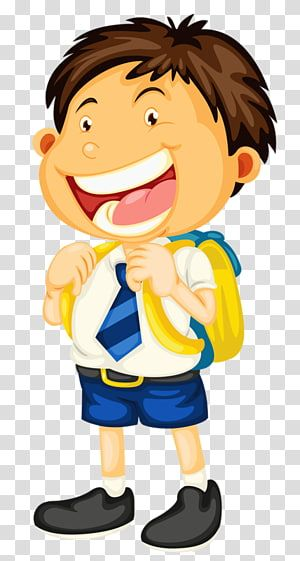 Student School Uniform Child Happy Boy Transparent Background Png Clipart Happy Birthday Illustration Childrens Drawings Student Clipart