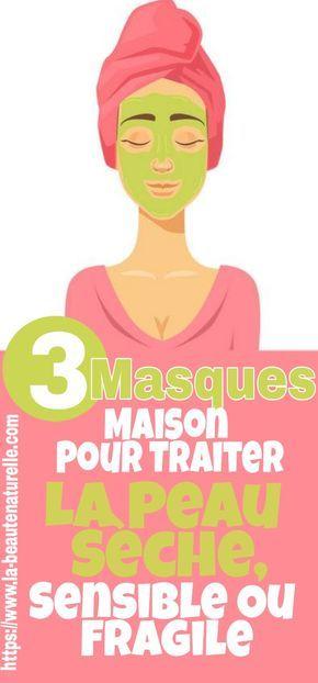 plutôt cool les ventes en gros large éventail 3 Masques maison pour traiter la peau sèche, sensible ou ...