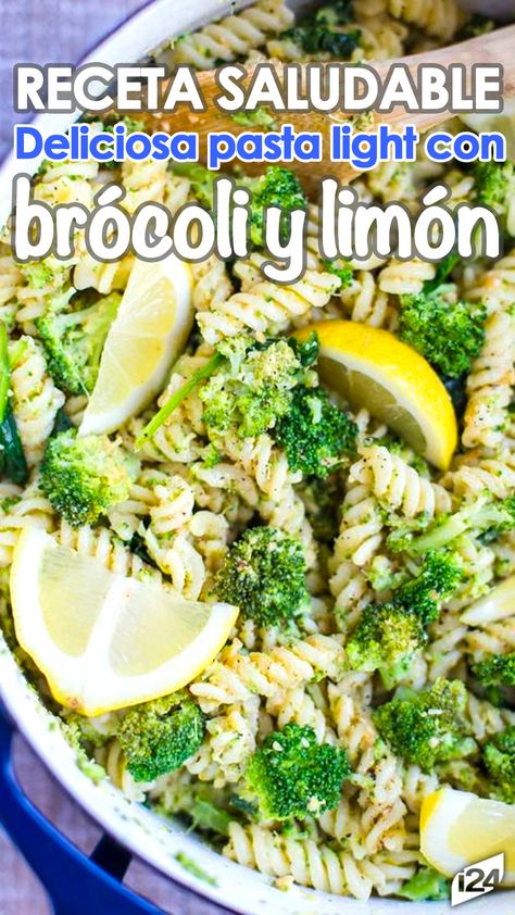 En 20 Minutos Disfruta De Una Pasta Light Con Brócoli Y