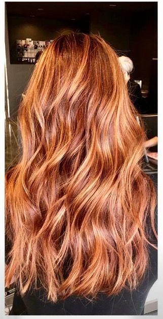 25 Top Rote Haare In Kupfer Frisuren Rote Haare Bunte Haare Rotblonde Haare