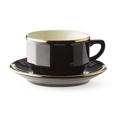 Apilco Flora Cup And Saucer Set Williamssonoma In 2020 Tea Cups