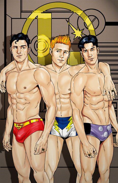 Nude super hero gay cartoons