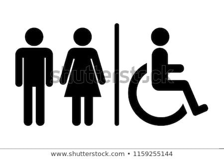 male female handicap toilet sign vector illustration handicap toilet toilet sign male male female handicap toilet sign