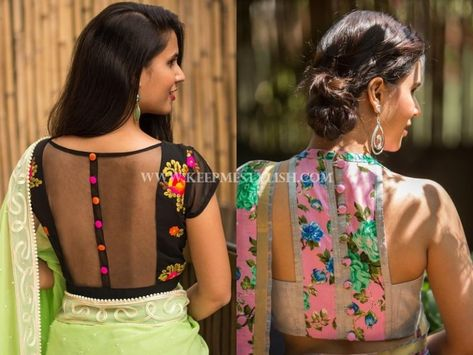 4ddba5f044f415 This is Why Floral Blouses Are So Perfect for Any Saree!