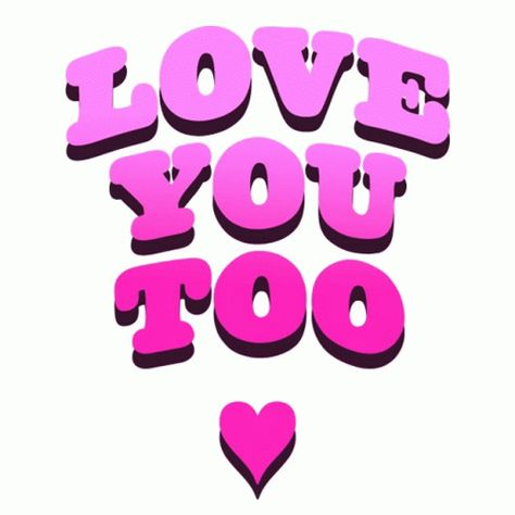 Love You Too ILove You GIF - LoveYouToo ILoveYou MuchLove - Discover & Share GIFs