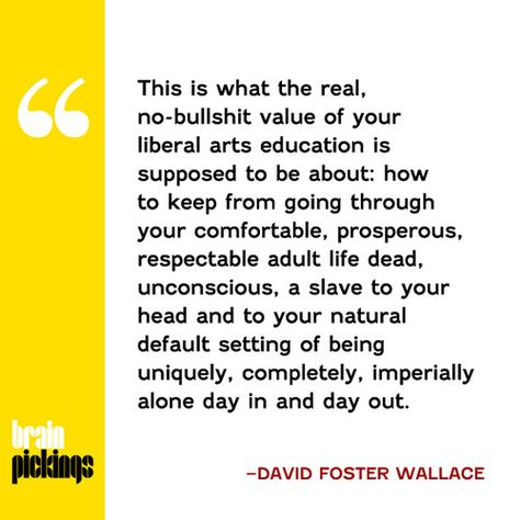 on may 21, 2005, david foster wallace gave his now