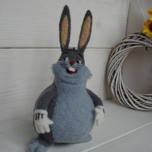Needle Felted RabbitBunny Medium size