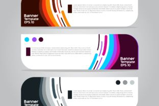 Banner Template For Business Presentation Vol  Banner Template