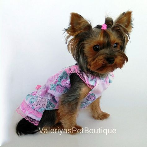 Summer Dog Dress Birthday Party Dog Dress Wedding Dog Dress