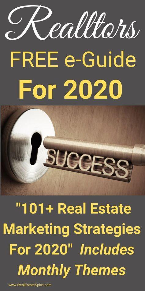 FREE 2020 e-Guide: '101+ Real Estate Marketing Strategies'