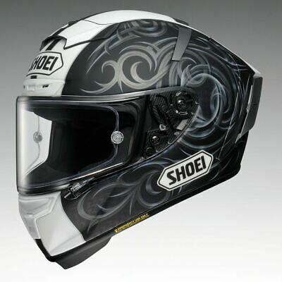 Shoei X Spirit 3 Kagayama Special Order Motorcycle Helmet Black White Grey In 2020 Full Face Helmets Motorcycle Helmet Design Full Face Motorcycle Helmets