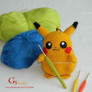 Eva Channel | Pikachu Amigurumi Crochet Tutorial - YouTube | 320x320