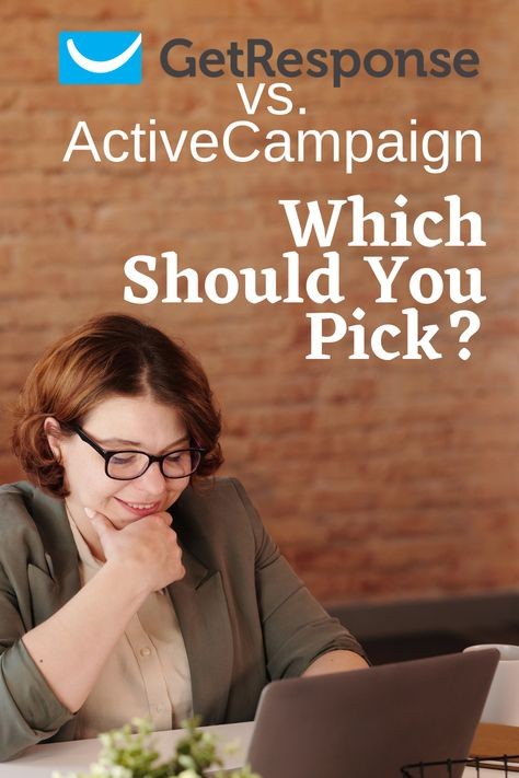 GetResponse vs. ActiveCampaign: Which should you pick