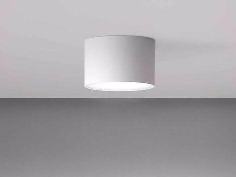 Luci Led Soffitto.Lampada Da Soffitto A Led A Luce Diretta In Alluminio In