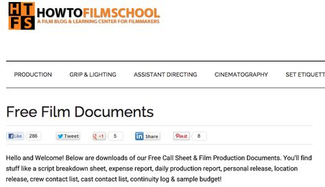 7 best Shooting schedules \/ call sheets images on Pinterest Film - sample call sheet