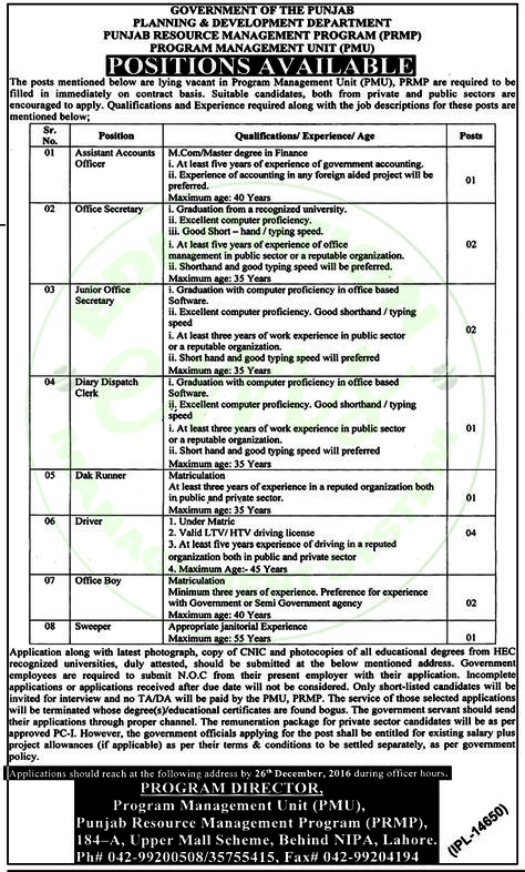 Services Institute Of Medical Sciences Lahore Jobs December 2016