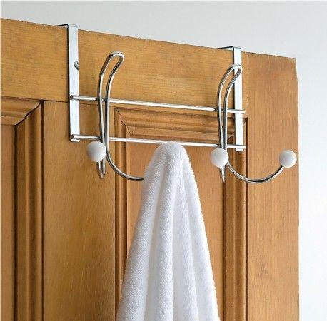 21 over the door towel rack ideas
