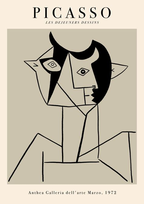 Poster Wall, Art Exhibition Posters, Wall Art, Picasso Prints, Art Collage Wall, Art, Art Exhibition, Prints, Aesthetic Art