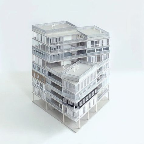 Gallery of 23 Dwellings / MUOTO  - 22 Gallery of 23 Dwellings / MUOTO – 22 You are in the right place about Architecture model making tutorials  Here we offer you the most beautiful pictures about the  Architecture model making miniatures  you are looking for. When you examine the Gallery of 23 Dwellings / MUOTO – 22 part of the picture you can get the massage we want to deliver. Yo can see that this picture is ann acclaimed one and the quality by looking at the number of 4121. When you follow